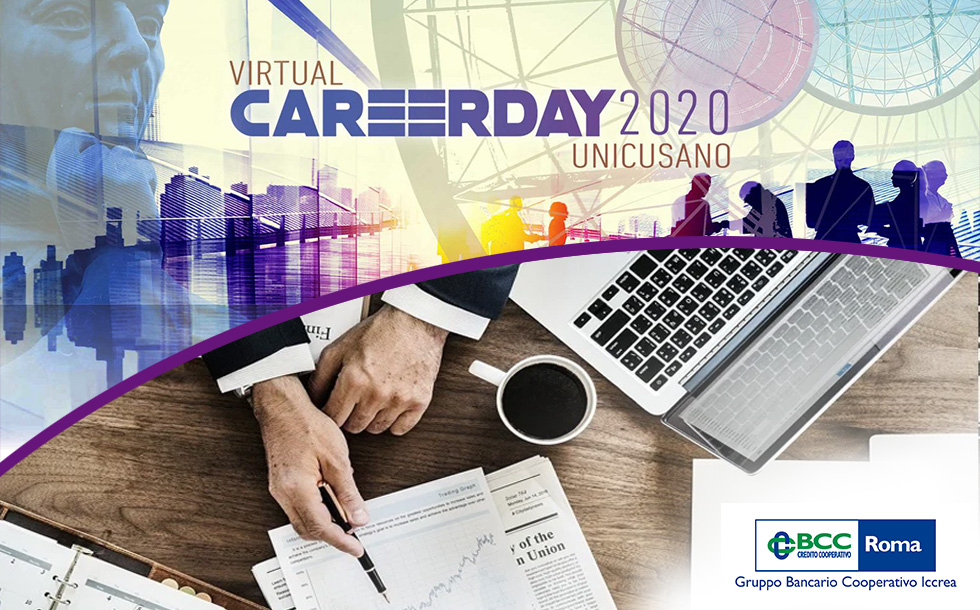 Virtual Career Day Unicusano: scopriamo la Bcc di Roma